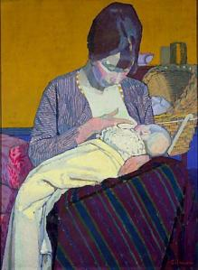 Mother and Child  Harold Gilman